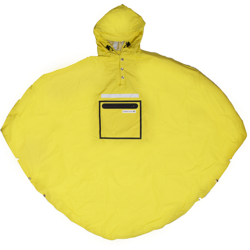 The People's Poncho gelb - yellow 3.0