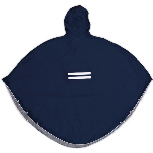 The People's Poncho blau - navy 3.0